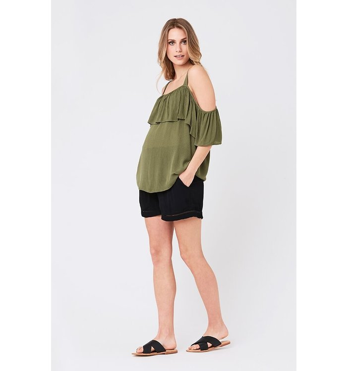 Ripe Ripe Maternity Short, CR