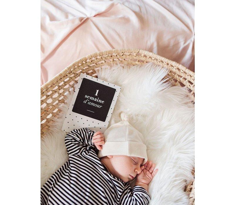 Parcelles & Co. Parcelles de Bébé Black & White