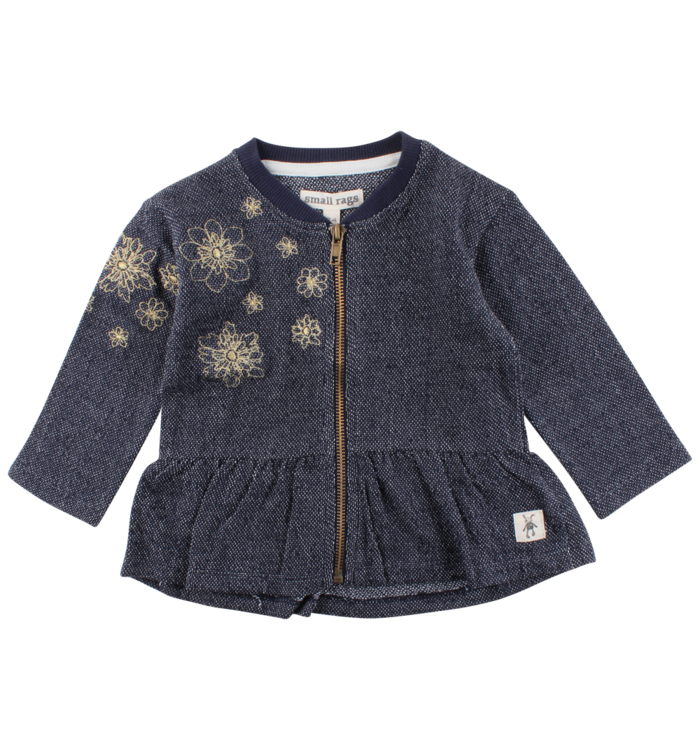 Small Rags Small Rags Girl's Cardigan, PE19