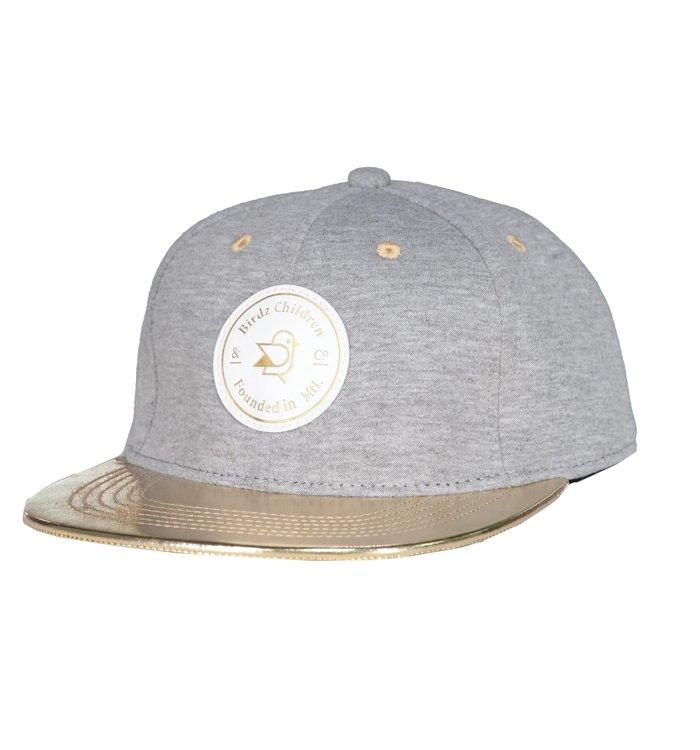 Birdz Birdz Gold-Gray Cap