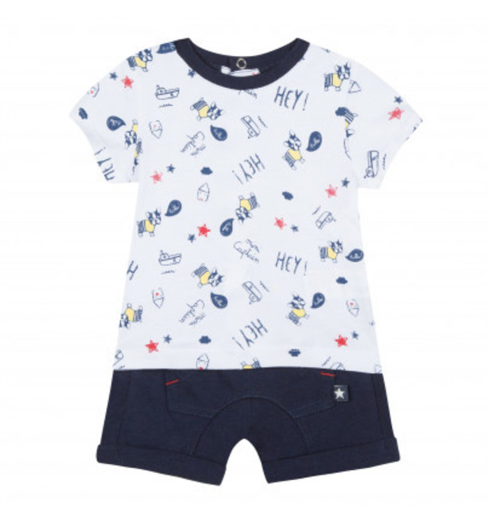 3Pommes Boy's 2 Pieces Set, PE19