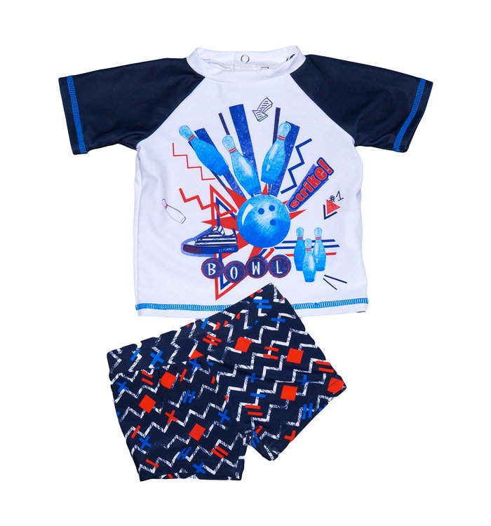 3 pommes 3 Pommes Boy's Swimsuit, PE19