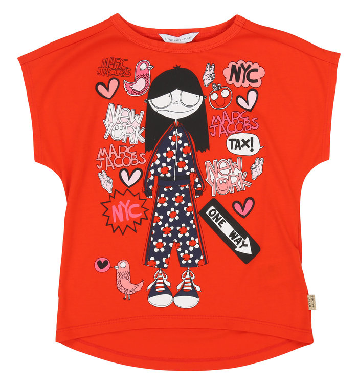 Little Marc Jacobs Girl's T-Shirt, PE19