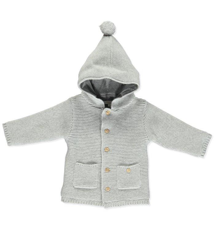 Pureté du... Bébé Pureté du Bébé Boy's Cardigan+Hat , AH19