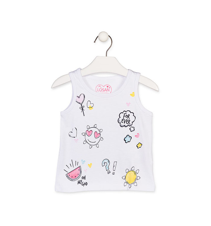Losan Girl's Top, PE19