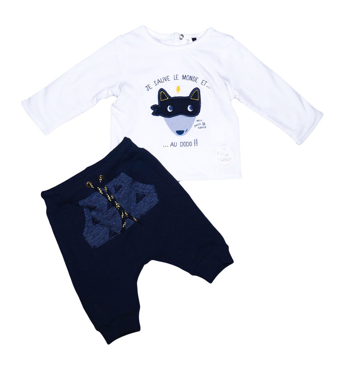 3 pommes 3 Pommes Boy's 2 Pieces Set, AH19