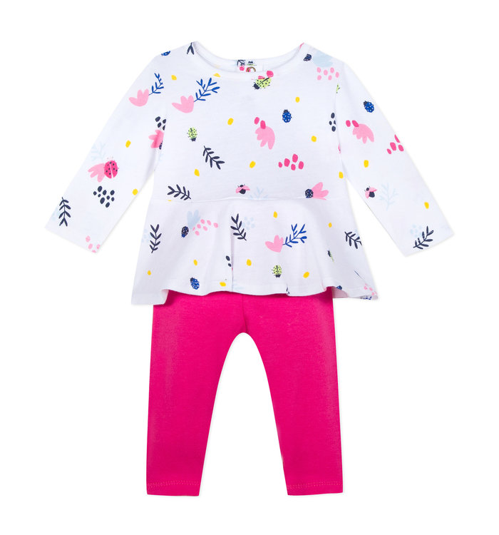 Catimini Girl's 2 Pieces Set, CR