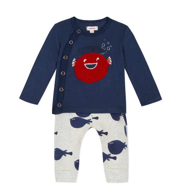 Catimini Boy's 2 Pieces Set, CR