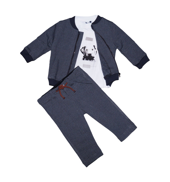3 pommes 3Pommes Boy's 3 Pieces Set, AH19