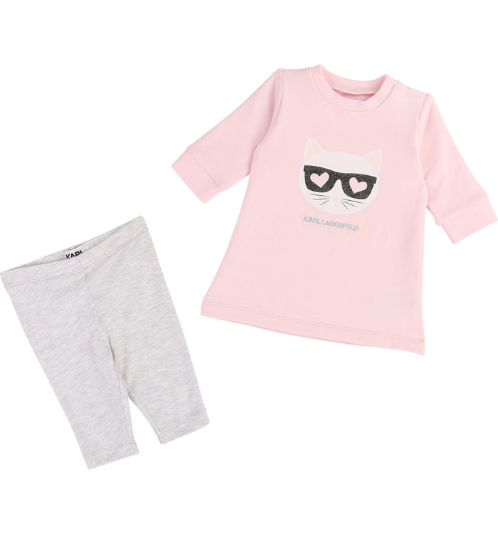 Karl Lagerfeld Karl Lagerfeld Girl's 2 Pieces Set, AH19