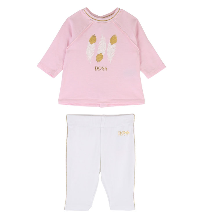 Hugo Boss Hugo Boss Girl's 2 Pieces Set, AH19