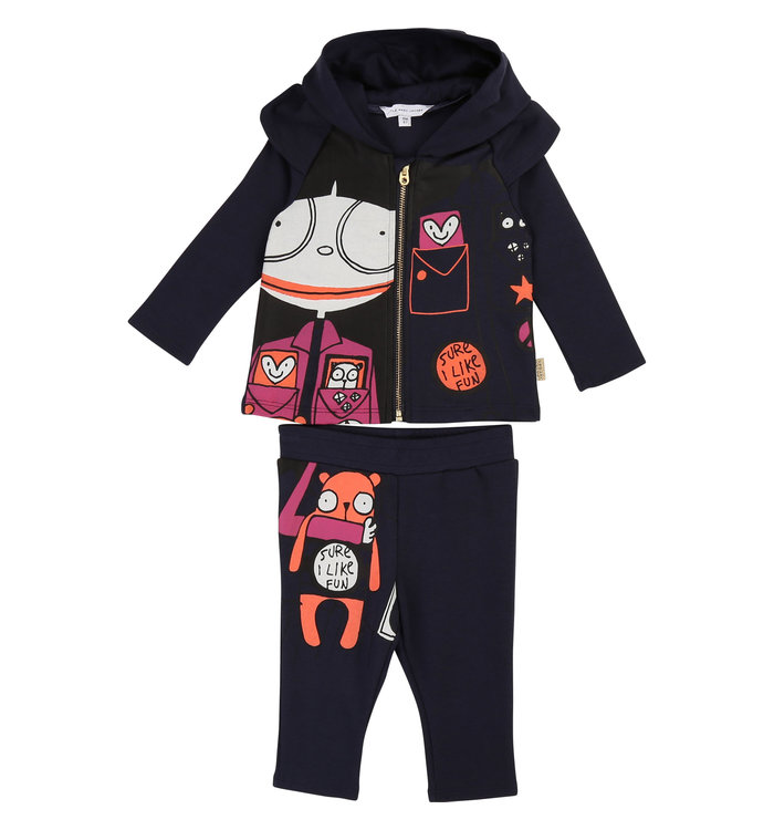 Ensemble 2 Pièces Fille Little Marc Jacobs, AH19