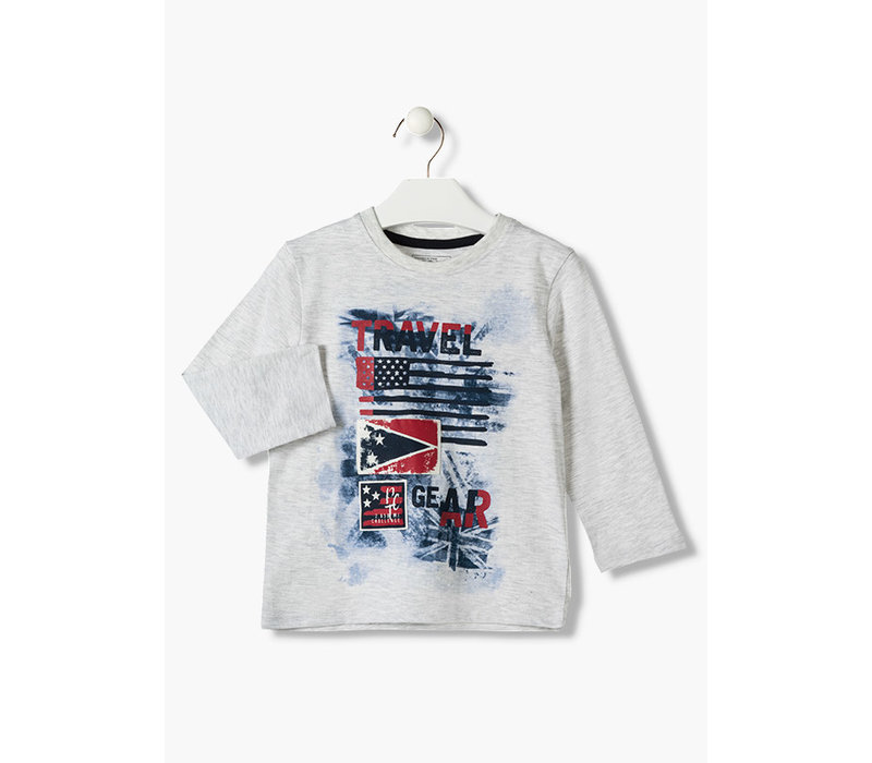 Losan Boys Long Sleeve Tee, AH19