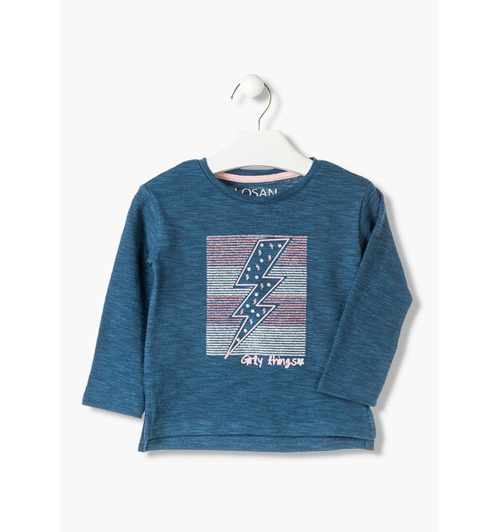Losan Girls Tee, AH19