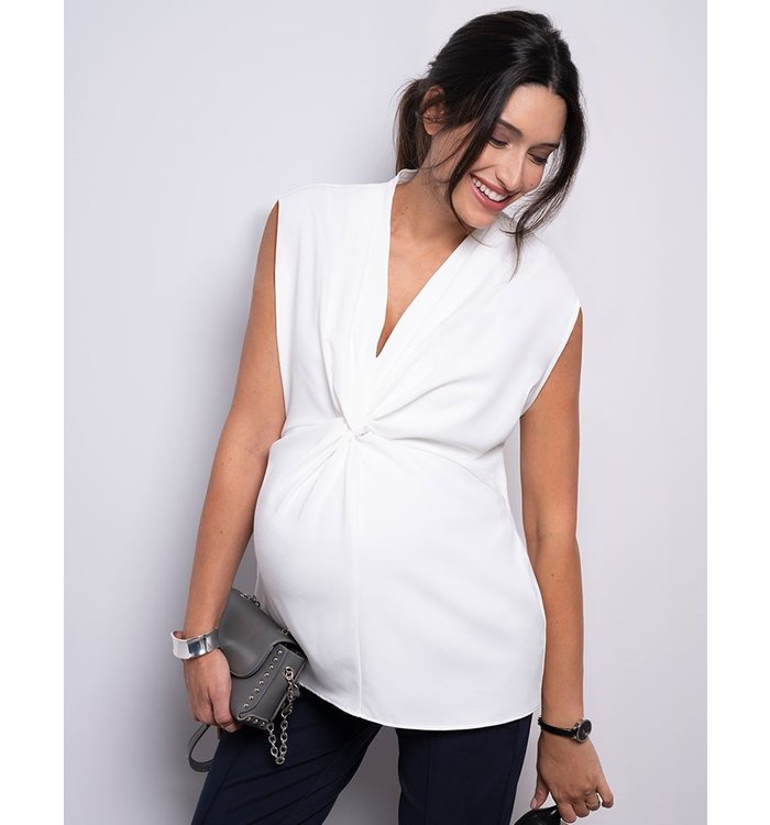 Seraphine Séraphine Maternity Blouse, CR