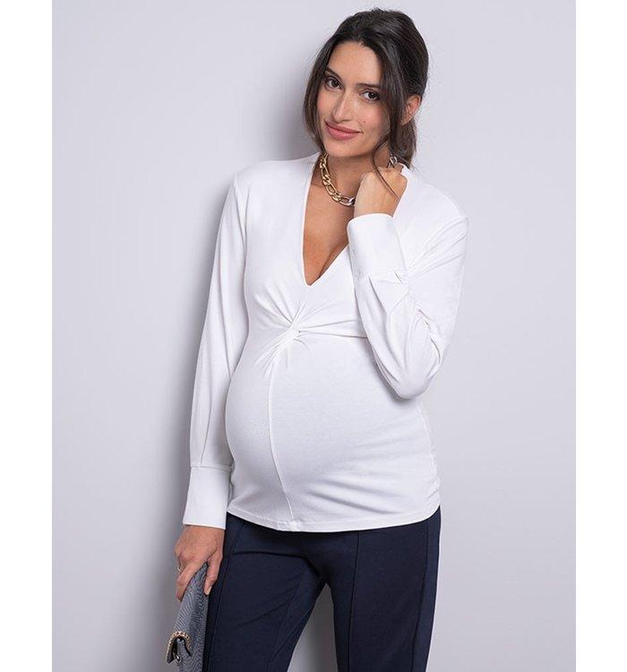 Seraphine Séraphine Maternity Blouse, CR