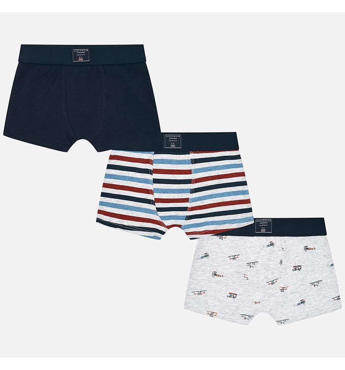 Mayoral Mayoral Boy's 3 Boxers Set, CR