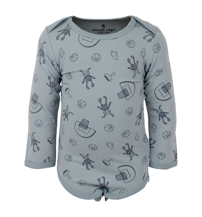 Small Rags Small Rags Boys Onesie, AH19