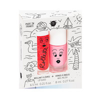 COFFRET DUO VERNIS/BRILLANT À LÈVRES NAILMATIC