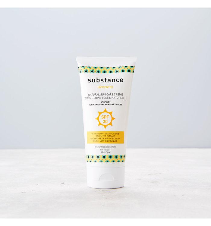 Substance CRÈME SOLAIRE NATURELLE SANS ODEUR SUBSTANCE