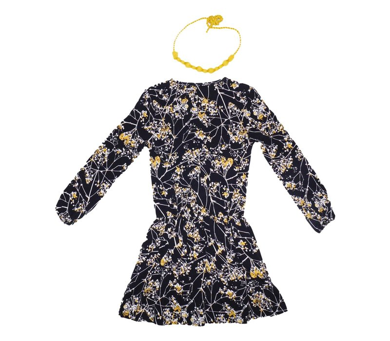 Imoga Girl's Dress And Necklace