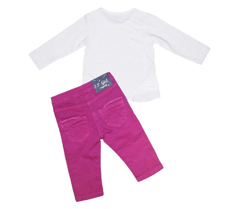 3Pommes Girl's 2 Piece Set
