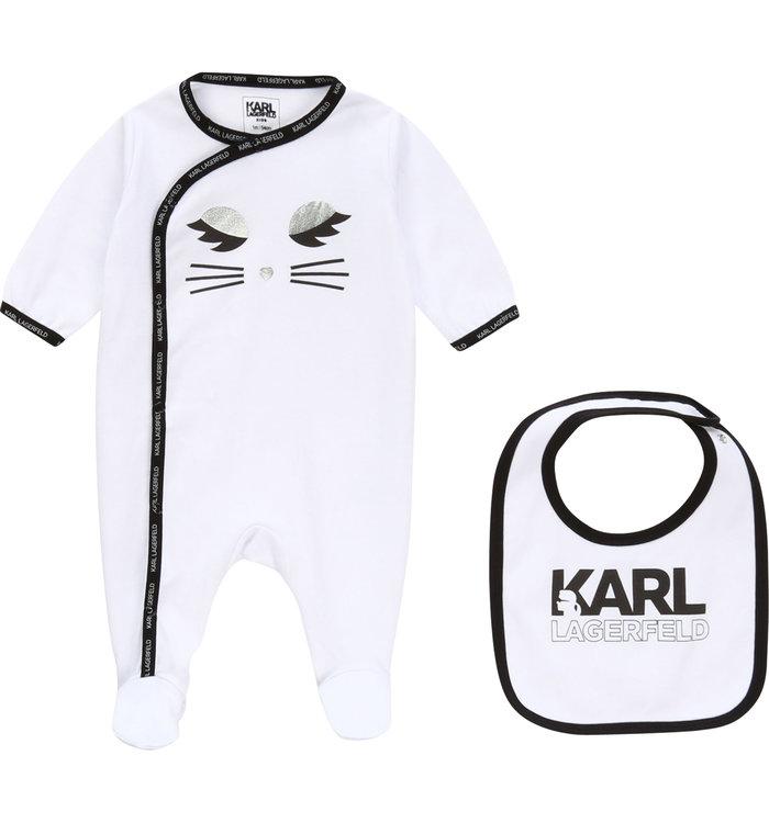 Karl Lagerfeld Karl Lagerfeld Girl's 2 Piece Pyjama,  PE20