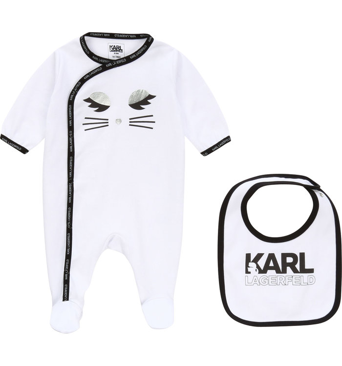 Karl Lagerfeld Pyjama 2 Pieces Fille Karl Lagerfeld ,  PE20