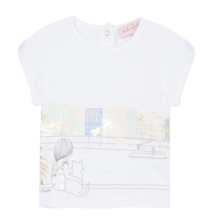 Lili Gaufrette Lili Gaufrette Girl's T-Shirt, PE20
