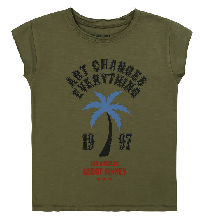 Zadig & Voltaire Zadig & Voltaire Boy's T-Shirt, PE20