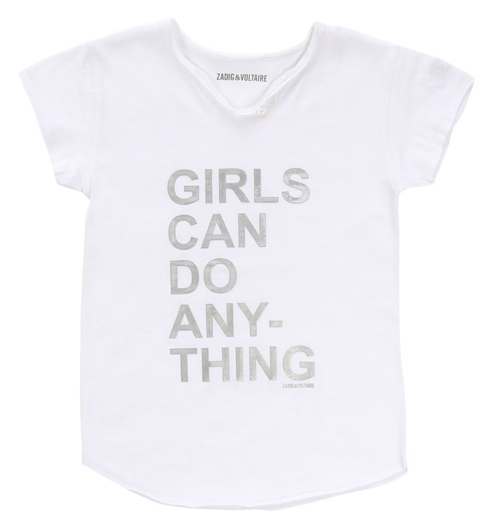Zadig & Voltaire Zadig & Voltaire Girl's T-Shirt, PE20