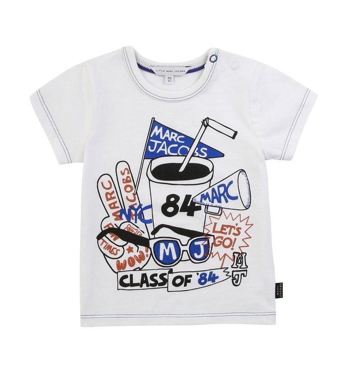Little Marc Jacob Little Marc Jacobs Boy's T-Shirt, PE20