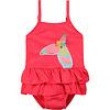 Billieblush Billieblush Girls Bathing Suit, CR