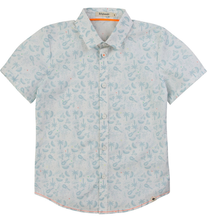 Billybandit Billybandit Boys Short Sleeve Shirt, CR