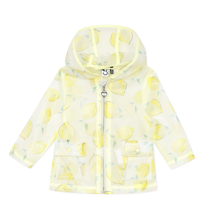 3 pommes 3 Pommes Girl's Rain Coat, CR
