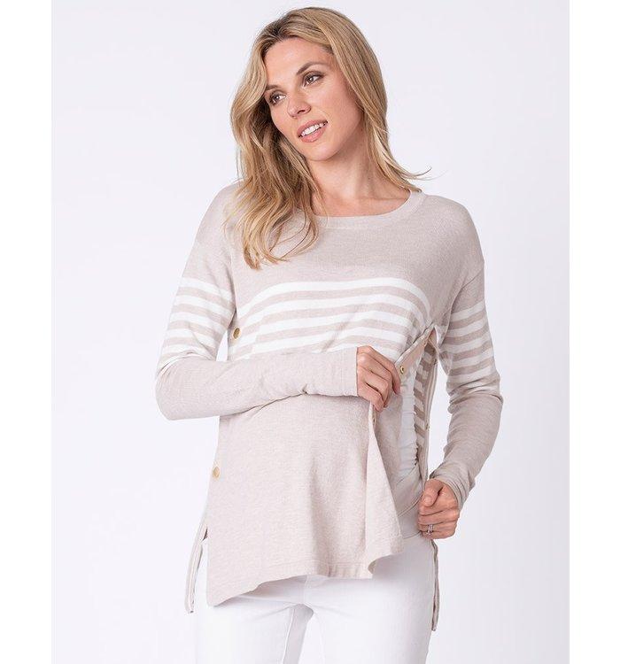 Seraphine Séraphine Maternity & Nursing Sweater, CR