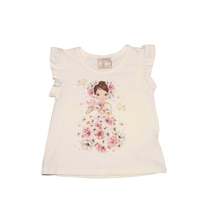 milon T-Shirt Fille Milon, PE20