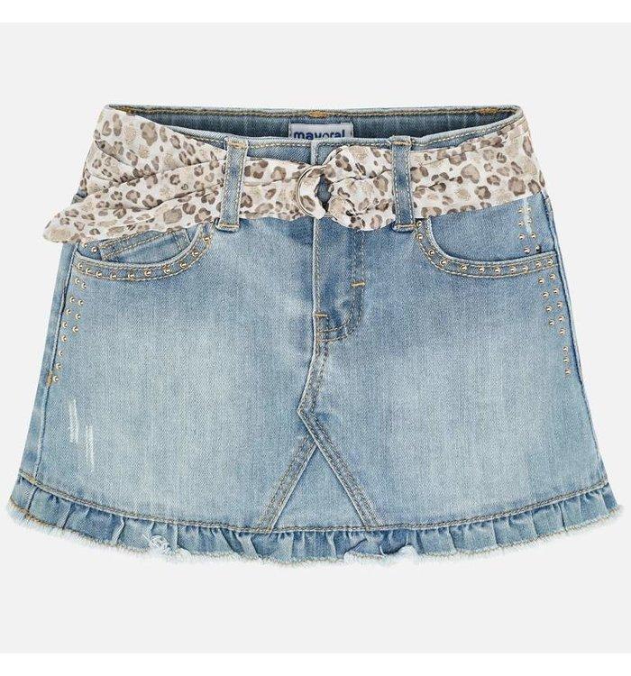 Mayoral Jupe Jeans Fille Mayoral, CR