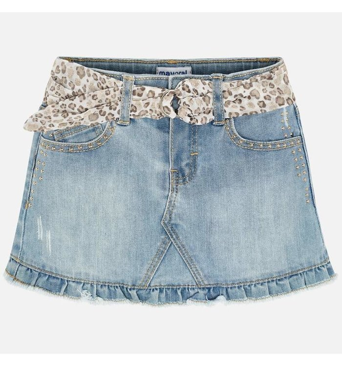 Mayoral Mayoral Girl's Jeans Skirt, CR