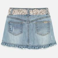 Jupe Jeans Fille Mayoral, CR