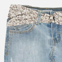 Mayoral Girl's Jeans Skirt, CR