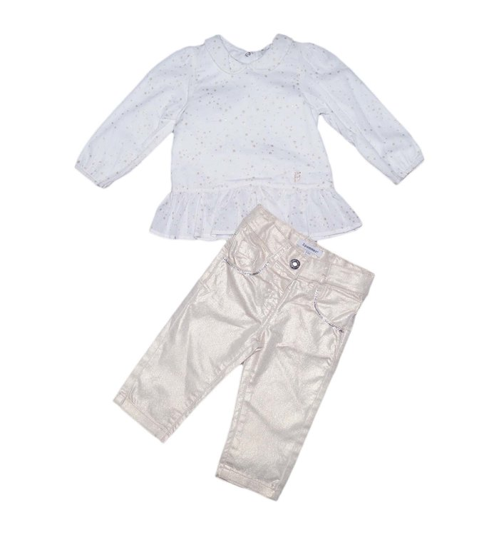 3 Pommes Girl's 2 piece set
