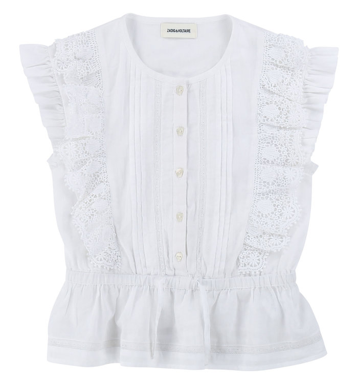 Zadig & Voltaire Blouse Fille Zadig & Voltaire