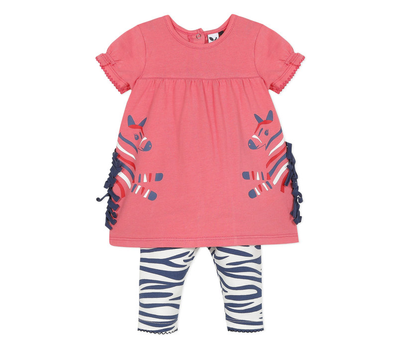 3 Pommes Girl's 2 Pieces Dress