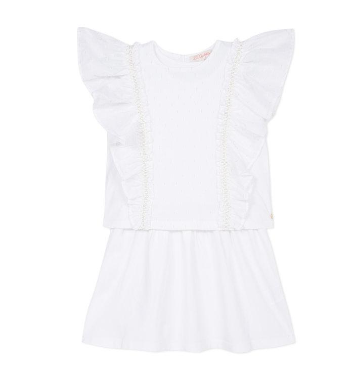 Lili Gaufrette Lili Gaufrette Girl's 2 Piece Dress