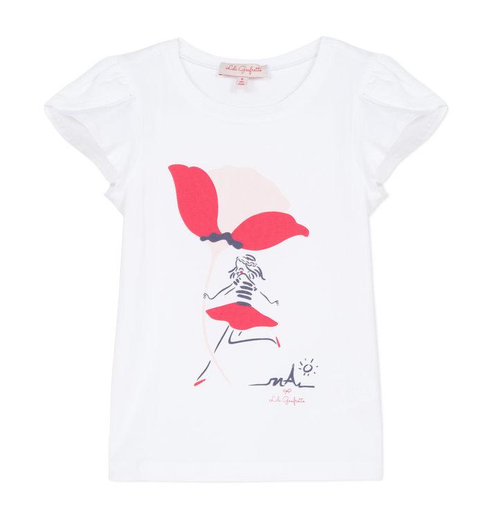 Lili Gaufrette T-Shirt Fille Lili Gaufrette