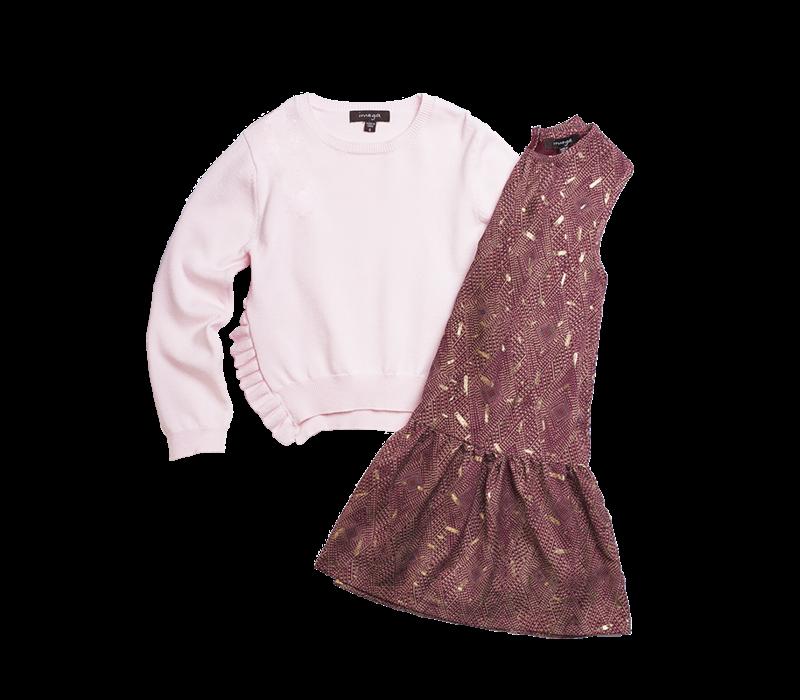 Imoga Girl's 2 Piece Dress