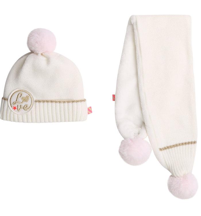 Billieblush Billieblush Girl's Hat + Scarf