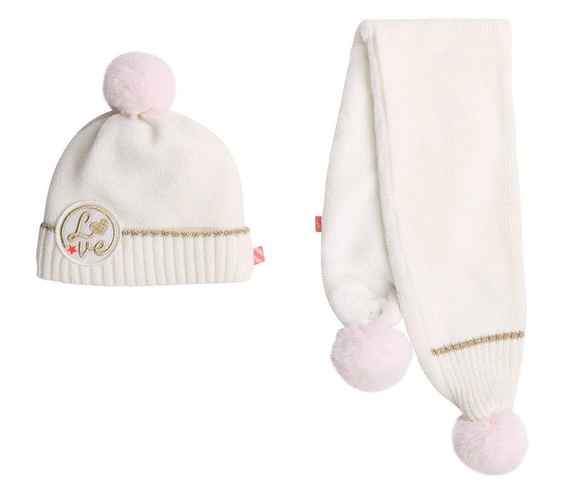 Billieblush Girl's Hat + Scarf