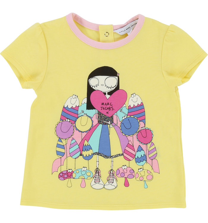 T-Shirt Fille Little Marc Jacobs